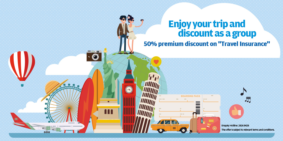 Enjoy your trip and discount with your buddy, friends and family