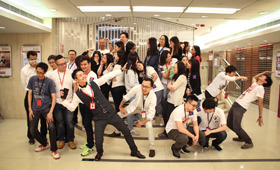 The photo taken by our Mongkok Branch was awarded in the photo competition.