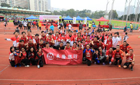 The Bank sponsored 58 colleagues and their kids to join the 10km and 3km individual and team, as well as the 800m family run.