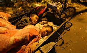 Over 20,000 children were affected by the disaster. (Photo extracted from newswire)